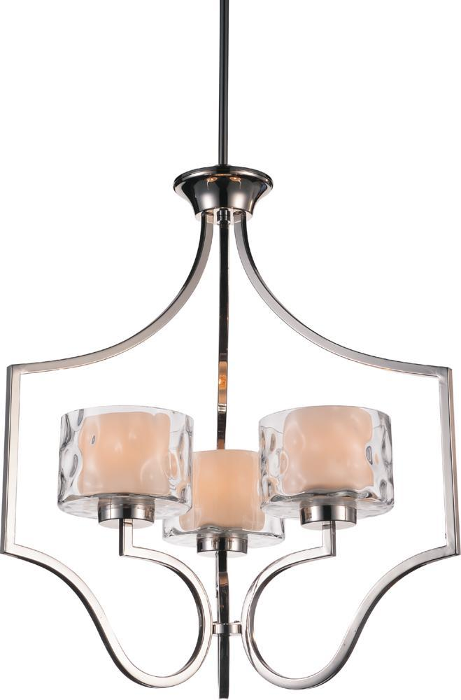3 Light Chrome Drum Shade Chandelier from our Lorri collection