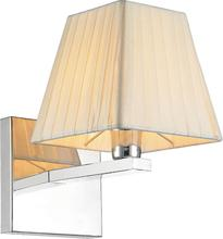 Crystal World 5456W6C-1 - 1 Light Chrome Wall Light from our Tilly collection