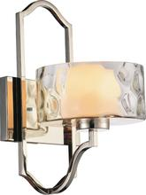 Crystal World 9810W8-1-601 - 1 Light Chrome Wall Light from our Lorri collection