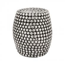 Dimond 8990-024 - Peweter Pebble Stool