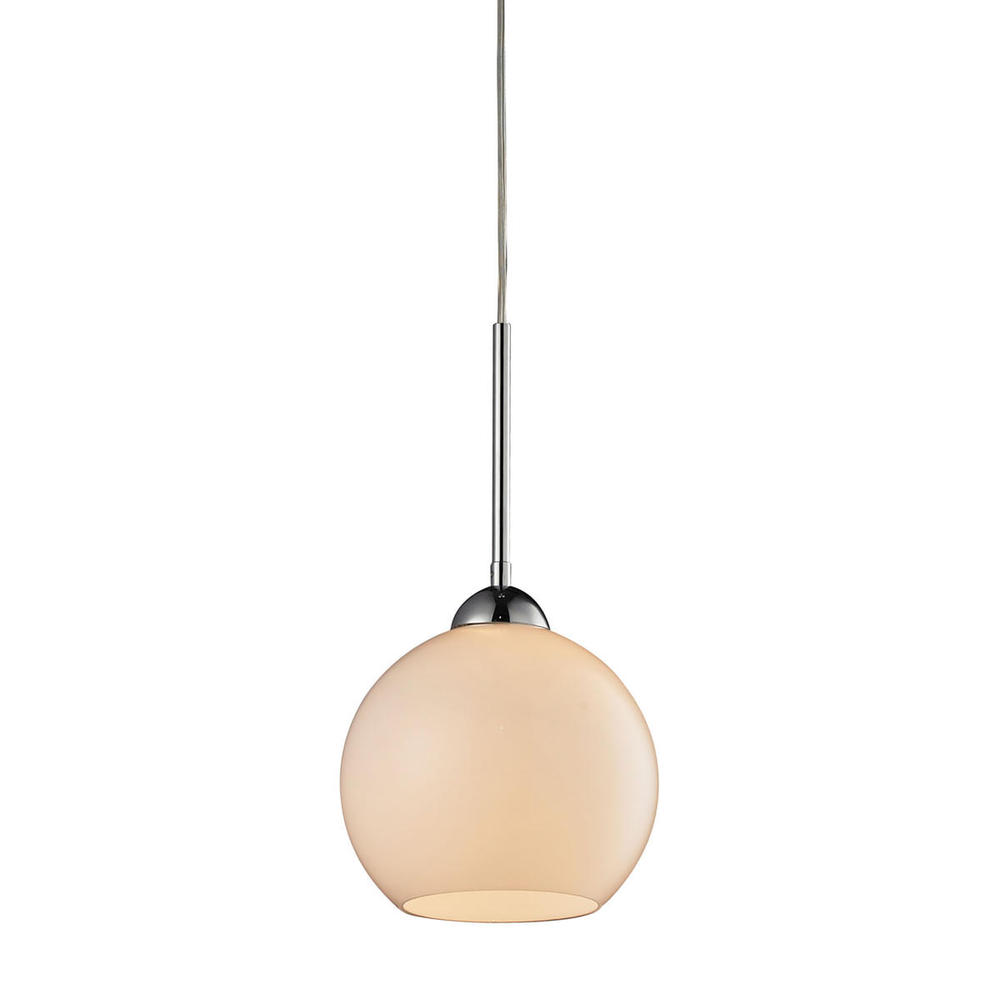 Cassandra 1 Light Pendant In Polished Chrome