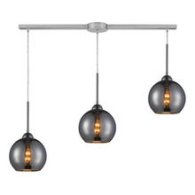 ELK Lighting 10240/3L-CHR - Cassandra 3 Light Pendant In Polished Chrome